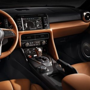 Nissan GT-R - kierownica