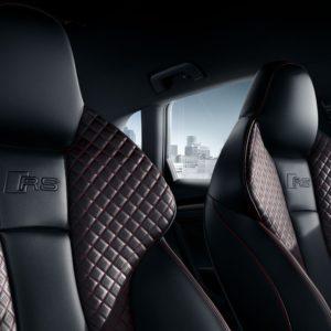 Audi RS 3 siedzenia