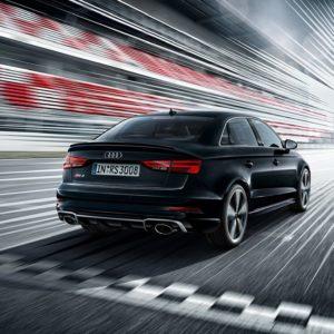 Audi RS 3 od tyłu