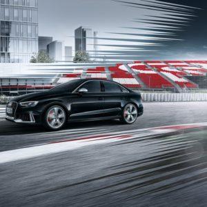 Audi RS 3 od boku