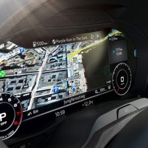 Audi RS 3 deska rozdzielcza