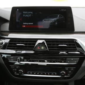 BMW serii 5 - nawigacja