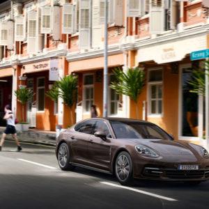 Porsche Panamera od przodu