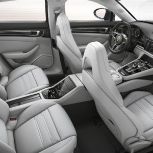 Porsche Panamera - wnętrze