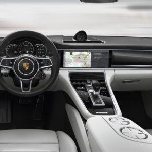 Porsche Panamera - kierownica