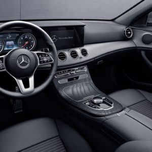 Mercedes Klasa E - kierownica