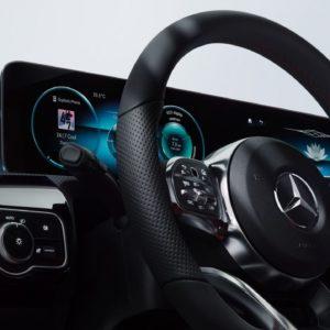 Mercedes benz - kierownica
