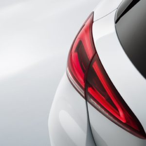 Mercedes benz - tylne światła