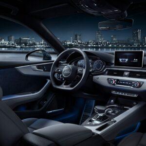 Audi A5 Sportback S tronic wnętrze