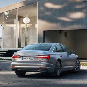 Audi A6 - S tronic od tyłu