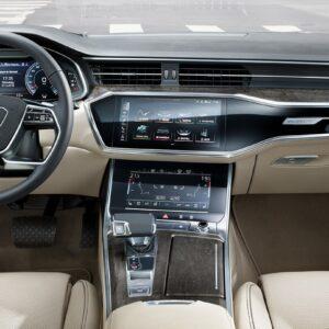 Audi A6 - S tronic wnętrze