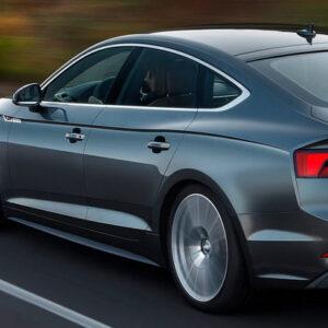 Audi A5 Sportback S tronic od przodu od tyłu