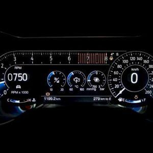 Ford Mustang GT - Fastback - 5.0 V8 deska rozdzielcza